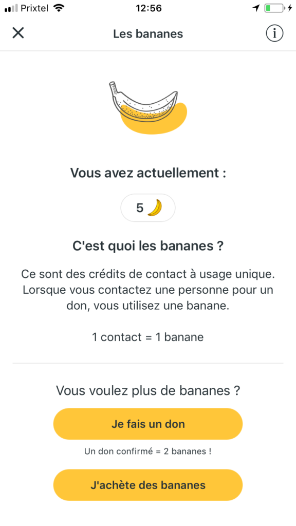 geev application smartphone dons particuliers