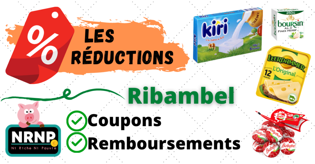 Ribambel coupons de réductions fromages